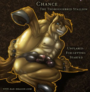 The Bad Dragon's Chance (unflared)